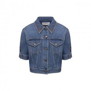 Джинсовая куртка Chloé. Цвет: синий