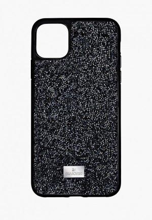 Чехол для iPhone Swarovski® 12 mini. Цвет: черный