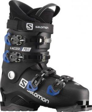 Ботинки горнолыжные X ACCESS 70 wide, размер 29 см Salomon. Цвет: черный