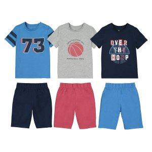 Комплект из 3 пижам с LaRedoute. Цвет: синий