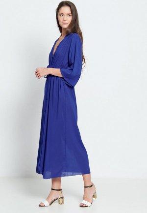 Платье пляжное Donatello Viorano Барбадос. Цвет: синий