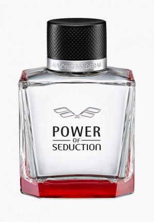 Туалетная вода Antonio Banderas Power Of Seduction, 100 мл. Цвет: прозрачный