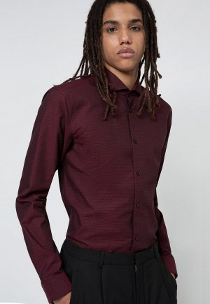 Рубашка Hugo Erriko. Цвет: разноцветный