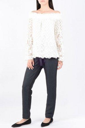 Блуза Designers Remix. Цвет: кремовый