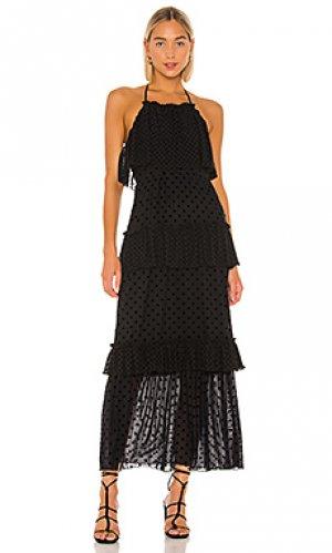 Платье owen Tularosa. Цвет: черный