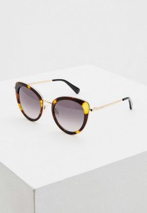 Очки солнцезащитные Love Moschino MOL006/S 05L. Цвет: коричневый