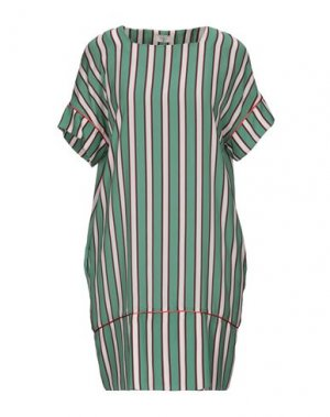 Короткое платье EMMA & GAIA. Цвет: светло-зеленый