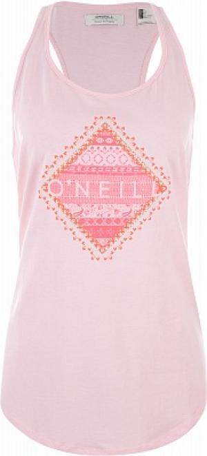 Майка женская ONeill Graphic, размер 48-50 O'Neill. Цвет: розовый