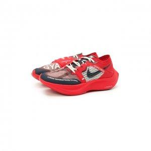 Кроссовки Nike x Gyakusou ZoomX Vaporfly Next% NikeLab. Цвет: красный