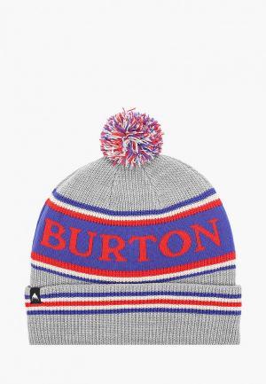 Шапка Burton TROPE BNIE. Цвет: серый