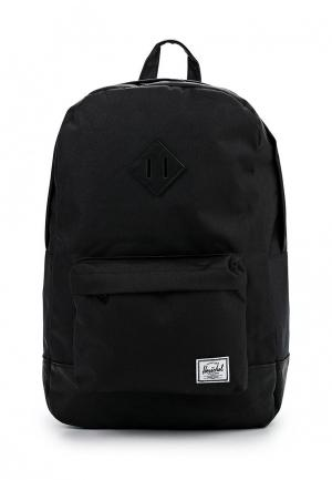 Рюкзак Herschel Supply Co Heritage. Цвет: черный