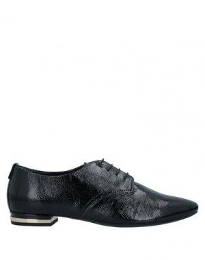 Обувь на шнурках AGL. Цвет: черный