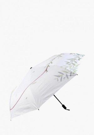 Зонт складной Kawaii Factory. Цвет: белый