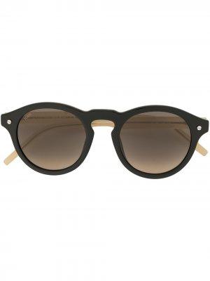 Tods солнцезащитные очки в съемной оправе Tod's. Цвет: черный
