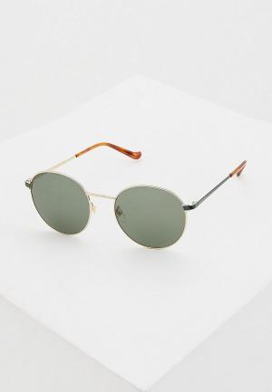 Очки солнцезащитные Gucci GG0574SK 003. Цвет: зеленый