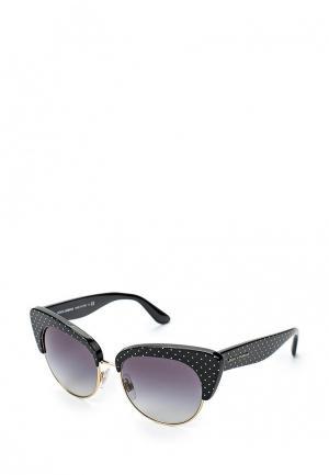 Очки солнцезащитные Dolce&Gabbana DG4277 31268G. Цвет: черный
