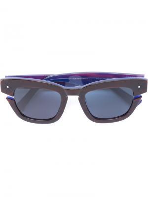 Солнцезащитные очки Bowtie Grey Ant. Цвет: чёрный