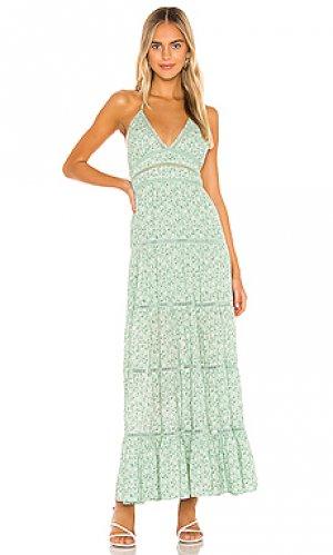 Платье helen Tularosa. Цвет: мята