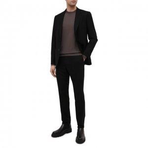 Шерстяной костюм Z Zegna. Цвет: чёрный