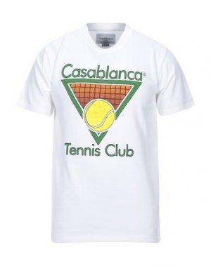 Футболка CASABLANCA. Цвет: белый