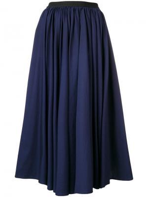 Расклешенная юбка миди Antonio Marras