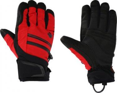 Перчатки мужские Parker, размер 9,5 Descente. Цвет: красный