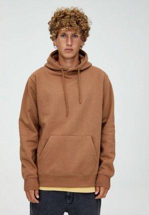 Худи Pull&Bear. Цвет: коричневый