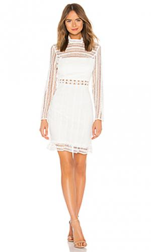 Платье vivian Bardot. Цвет: ivory
