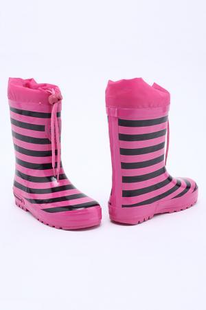 Резиновые сапоги Bebendorff. Цвет: розовый