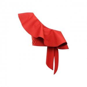 Бра-топ Johanna Ortiz. Цвет: красный