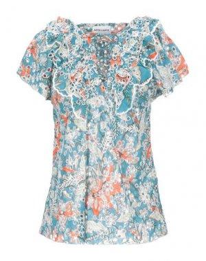 Блузка ANTIK BATIK. Цвет: грифельно-синий