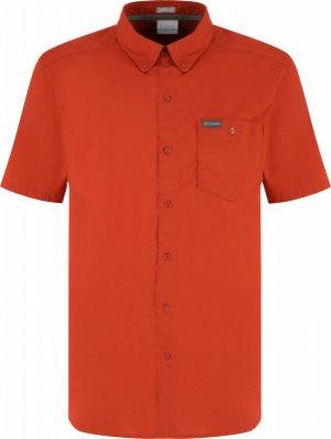 Рубашка с коротким рукавом мужская Brentyn Trail™ II, размер 48-50 Columbia. Цвет: оранжевый