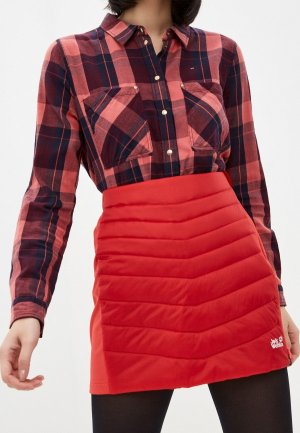 Юбка Jack Wolfskin ATMOSPHERE SKIRT WOMEN. Цвет: красный