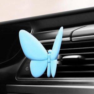 Духи для выхода воздуха в автомобиле форме бабочки SHEIN. Цвет: синий