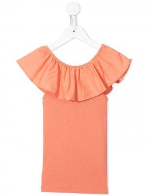 Платье с оборками Molo. Цвет: розовый