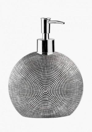 Дозатор для мыла Wasserkraft. Цвет: серый