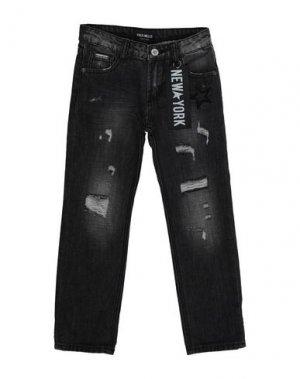 Джинсовые брюки FRED MELLO. Цвет: черный