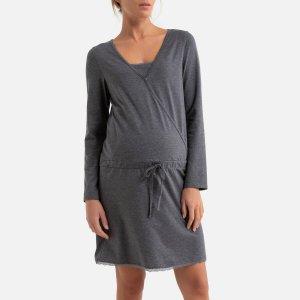 Рубашка LaRedoute. Цвет: серый