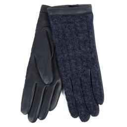 Перчатки KEIKO/AGN/W темно-синий AGNELLE