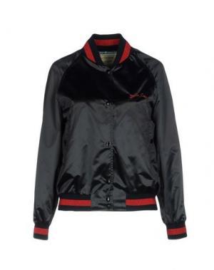 Куртка MAISON KITSUNÉ. Цвет: темно-синий