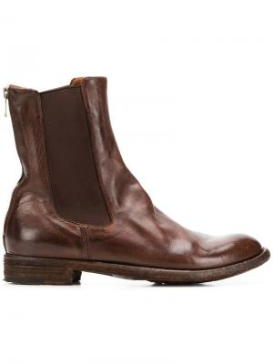 Ботинки челси Officine Creative. Цвет: коричневый