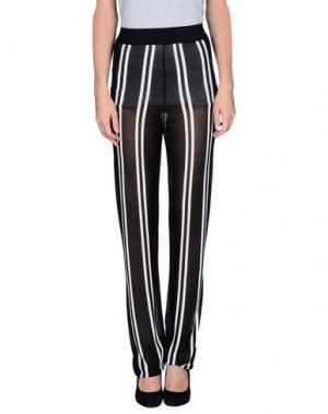 Повседневные брюки LORELLA SIGNORINO. Цвет: черный