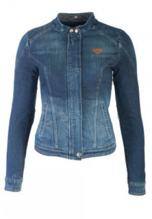Куртка ARMANI JEANS. Цвет: синий
