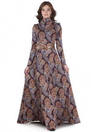 Платье Olivegrey VANDEA. Цвет: разноцветный
