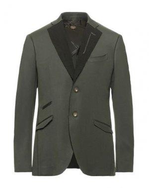 Пиджак MAURIZIO MIRI. Цвет: зеленый-милитари