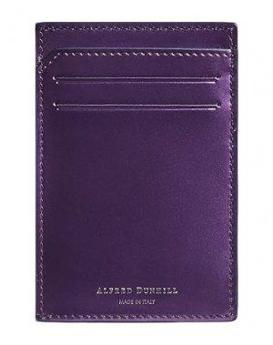Чехол для документов DUNHILL. Цвет: фиолетовый