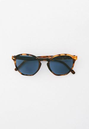 Очки солнцезащитные Vogue® Eyewear VO5368S 281980. Цвет: коричневый
