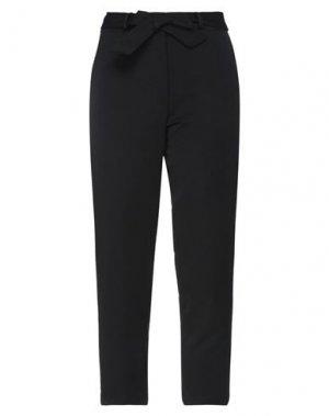 Укороченные брюки H2O ITALIA. Цвет: черный