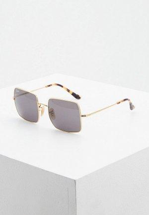 Очки солнцезащитные Ray-Ban® RB1971 9150B1. Цвет: золотой