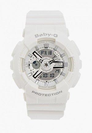 Часы Casio Baby-G BA-110-7A3. Цвет: белый